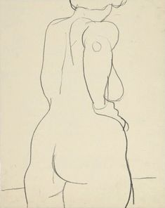 Untitled (Female Nude) Richard Diebenkorn