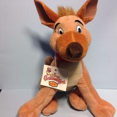All Dogs Go to Heaven (Christmas Carol) CHARLIE 1998 Plush Toy Doll (Denny's) #MetroGoldenMayer