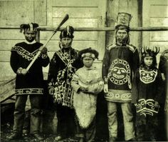 TLINGIT GROUP , 1885 Native American Photography, Native American Photos, American Indian Art, Native American History, Native American Indians, Native American Genocide, Native Americans, Cherokee, Mississippi