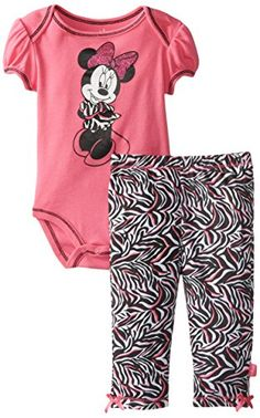 Disney Baby Girls Newborn Minnie Mouse Bodysuit and Pant Set- Zebra Print, Pink, 0-3 Months Disney http://www.amazon.com/dp/B00KCX37K0/ref=cm_sw_r_pi_dp_1fuZtb16CA5TV1D1