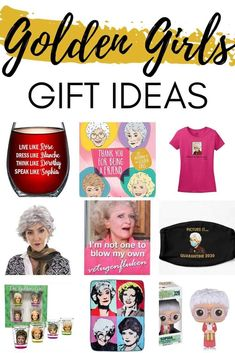 Golden Girls Gift Ideas - Funny gifts for fans of The Golden Girls tv show. #giftguide #goldengirls #staygolden Fathers Day Presents, Presents For Mom, Gifts For Dad, Golden Girls Gifts, Golden Girls Quotes, Gifts For Older Women, Buy Candles, Movie Gift, Teenage Girl Gifts