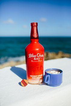 Blue Chair Bay Coconut Spiced Rum Cream & RIPTIDE // 2 oz. Blue Chair Bay Banana Rum Cream + 4 oz. coconut ...