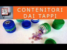contenitori per riciclare i tappi delle bottiglie di pet - YouTube