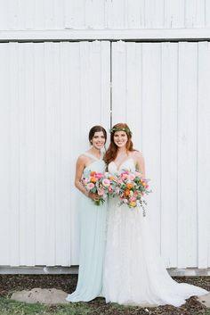 Southwest Wedding Ideas at Tatum Acres   The Perfect Palette Green Wedding, Boho Wedding, Floral Wedding, Wedding Day, Mint Bridesmaid Dresses, Wedding Dresses, Davids Bridal, Florals, Wedding Decorations