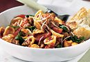 Orecchiette with Spinach, Sausage & Tomatoes  http://new.pamperedchef.com/recipe/89381