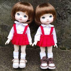 """좋아요 5개, 댓글 1개 - Instagram의 mini(@petite_jiwoo)님: """"#jiwoodoll #doll #resindoll #dollstagram #toy #arttoy #tiny #handmade #dollpainting #dollmakeup…"""""""