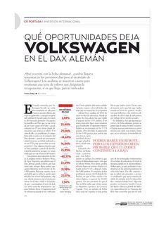 Qué oportunidades deja Volkswagen en el DAX alemán