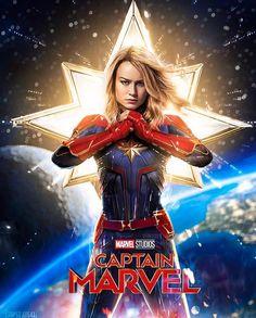 Brie Larson starring as Captain Marvel Marvel Avengers, Marvel Comics, Marvel E Dc, Marvel Women, Marvel Girls, Marvel Heroes, Marvel Universe, Miss Marvel, Captain Marvel Carol Danvers