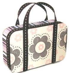 How to make Altered Tin - Mini Purse - DIY Craft Project from Craftbits.com