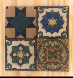 """Manufacturer creates handmade decorative tile, including tile """"rugs,"""" floor inserts, trim, fireplace fronts, and murals in Spanish Mission and Craftsman styles. Offers custom designs and glazes. Company: Native Tile and Ceramics"""