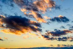 heaven sunset sun