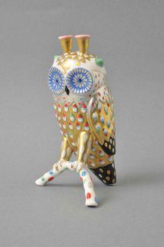 Klaus Haapaniemi owl #ceramics #pottery
