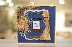 Create beautiful lacy cards and projects with our Goldwork Lace collection. See the full range at http://www.tatteredlace.co.uk/range/collections/goldwork