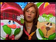 MIMILUNA presenta a Xiomara Cruz parte 1/4 Foamy Navideño - YouTube Reno, Christmas Ornaments, Holiday Decor, Diy, Character, Youtube, Wreaths, Christmas Cushions, Christmas Decor