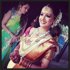 Oct, 2013: TV Actor Anita Hassanandani and Rohit Reddy's South Indian Wedding in Goa