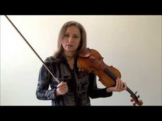 How to Play with Straight Bows on the Violin - YouTube