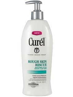 Sensitive Skin: Curél Rough Skin Rescue Smoothing Lotion's gentle exfoliators and souped-up ceramides deliver salvation for tight, itchy skin