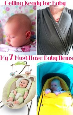 Getting Ready for Baby: My 7 Must Have Baby Items | Childhood101