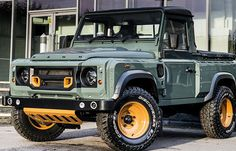 Land Rover Defender Pick-Up Front