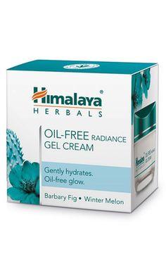1X HIMALAYA HERBAL OIL-FREE RADIANCE GEL CREAM FOR SKIN EACH PACK 50GM