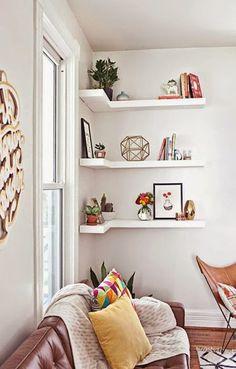 Nội thất Phát Mộc Gia: Các loại kệ đẹp ở góc nhà