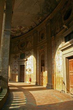 PALAZZO FARNESE DI CAPRAROLA (Farnese Palace of Caprarola) in Rome, Italy