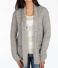 American Rag Mixed-Knit Fringe Cardigan Sweater, Only at Macy's ...