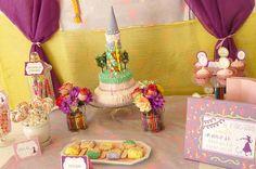Tangled theme birthday party