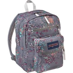 Image for JanSport® Big Student Backpack from Academy Top Backpack Brands, What's In My Backpack, Mochila Jansport, Jansport Superbreak Backpack, Pretty Backpacks, Top Backpacks, Big Backpacks For School, Cute School Bags, Bag Accessories