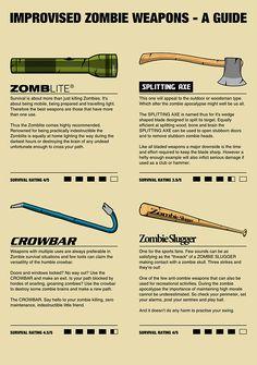 Improvised Zombie Weapons
