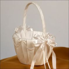 The Destiny flower girl basket will make her feel special as she walks down the aisle lining it with petals for your walk down the aisle. Description from opentip.com. I searched for this on bing.com/images