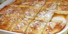 Delicious French Toast Bake Recipe Last weekend I made a French Toast Bake for a bridal shower brunch. I love this recipe because it is so easy & oh-so-delicious! The best part is that it is made the day before so there is no fuss on the day you con Breakfast And Brunch, Breakfast Dishes, Breakfast Recipes, Group Breakfast, Birthday Breakfast, Perfect Breakfast, Office Breakfast Ideas, Brunch Bar, School Breakfast