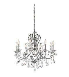 Kichler Lighting Jules 8 Light Chandelier in Chrome 43122CH
