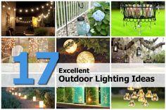 17 Excellent Outdoor Lighting Ideas