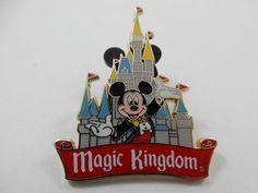 Disney 2008 Trading Pin Magic Kingdom with Mickey #Disney