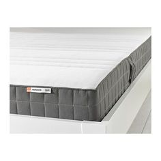 I'm on week 2 with this wonderful mattress and am very happy with my purchase. IKEA - MORGEDAL, Foam mattress, medium firm/dark gray, Full, High resilience foam gives support for each part of your body by closely following your movements.