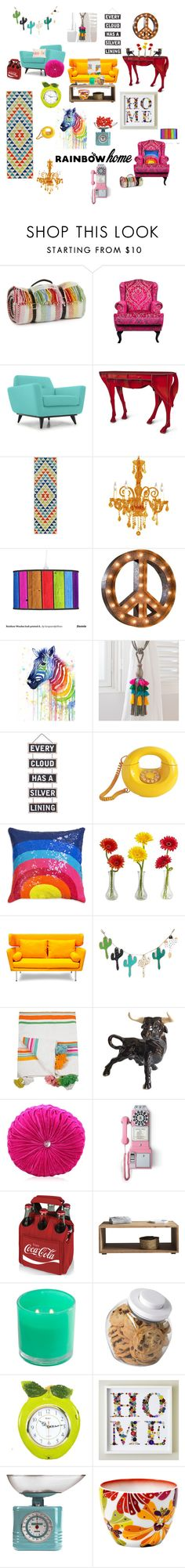"""More than a Feeling..."" by veronica22munoz on Polyvore featuring interior, interiors, interior design, home, home decor, interior decorating, Tweedmill, Joybird Furniture, ibride and Momeni"