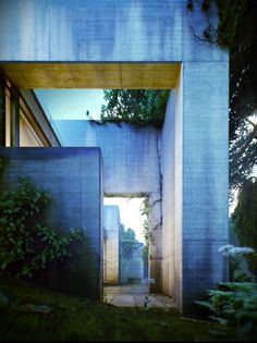 Overgrown House in Hungary designed by architect Satoshi Okada.