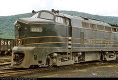 RailPictures.Net Photo: BO 4203 Baltimore & Ohio (B&O) Baldwin RF-16 at Salamanca, New York by Doug Wingfield