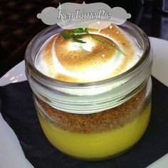 Key Lime Pie In a Jar