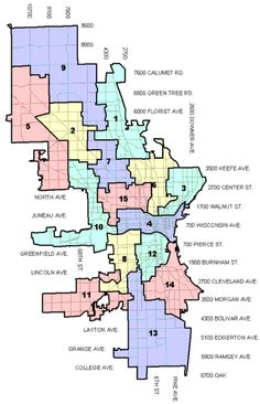 Aldermanic District Map