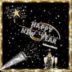 Happy New Year – Musiclovesilence Vintage Happy New Year, Happy New Year Wallpaper, Happy New Years Eve, Happy New Year Cards, Happy New Year Wishes, Happy New Year 2018, Happy New Year Greetings, Happy Year, Merry Christmas And Happy New Year