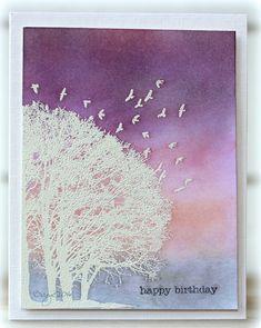 CC602 Tree by Biggan - Cards and Paper Crafts at Splitcoaststampers
