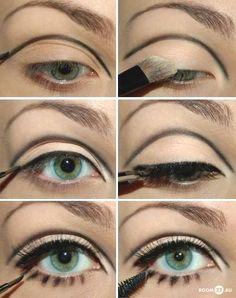 Retro Sharon Tate Valley Of The Dolls Eye Makeup