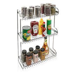 3 Tier Stainless Steel Kitchen Countertop Multipurpose Storage Rack / Bathroom Organizer Shelf Stand MyGift http://www.amazon.com/dp/B01A7U62IG/ref=cm_sw_r_pi_dp_1R4exb1K9VQB0
