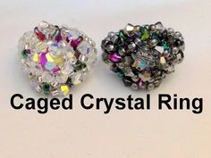 Caged Crystal Ring--intermediate level - YouTube