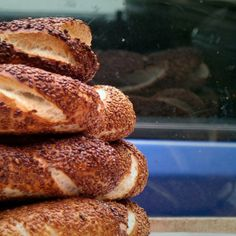 Behold the Simit: A Very Crusty Turkish Bread