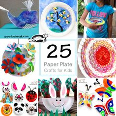 25 Paper Plate Crafts for Kids