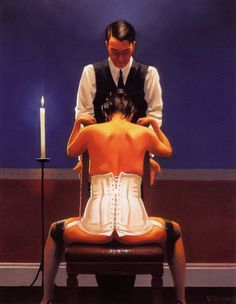 Jack Vettriano Painting - makes me think of 50 Shades of Grey...