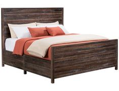 Townsend Collection - Nutmeg King Bed
